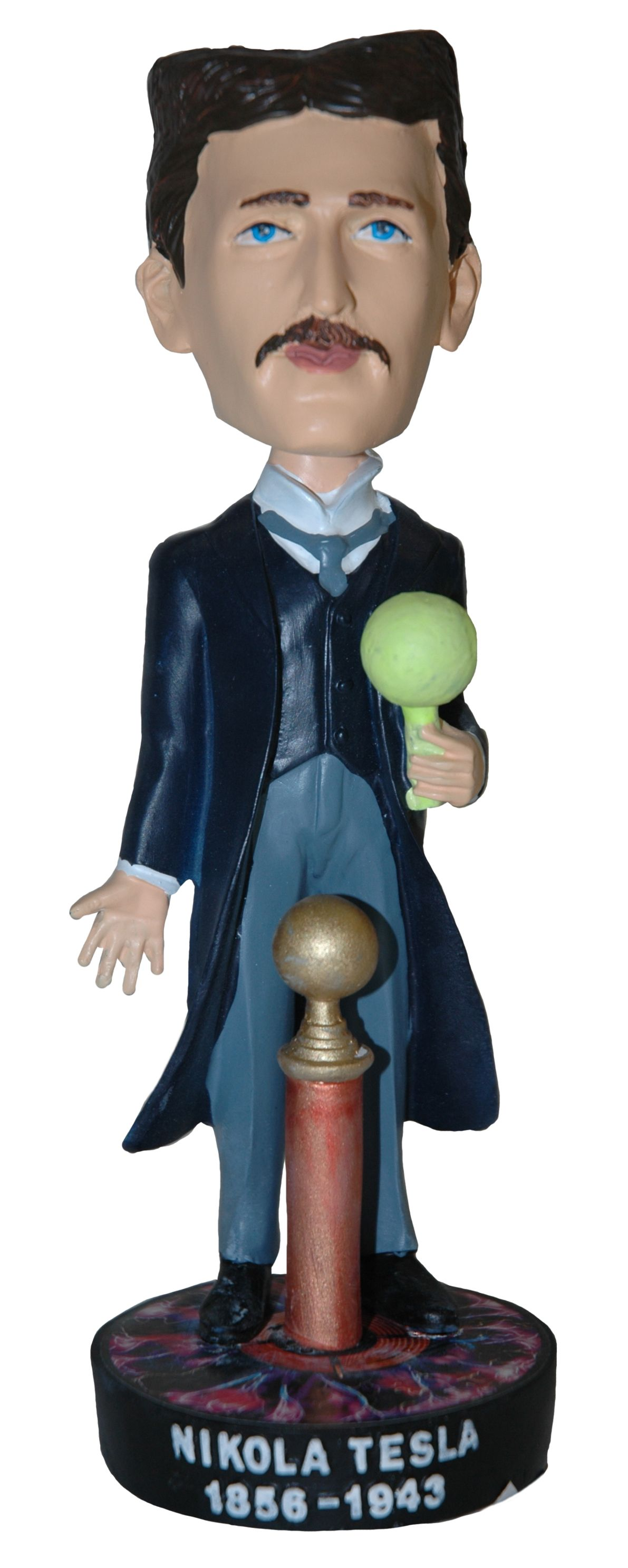 Nikola Tesla Collector Bobblehead