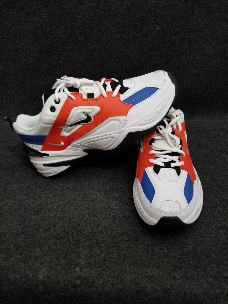8129584fc3 NIKE M2K TEKNO MONARCH Summit White Black Orange John Elliott AV4789-100   fashion  clothing  shoes  accessories  mensshoes  athleticshoes (ebay link)