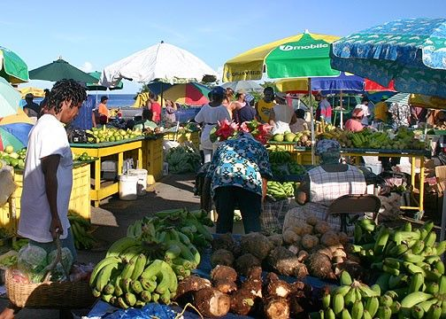 market day welcome to the west indies aka the caribbean