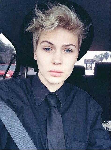Madison Paige Tomboy Style Tomboy Hairstyles
