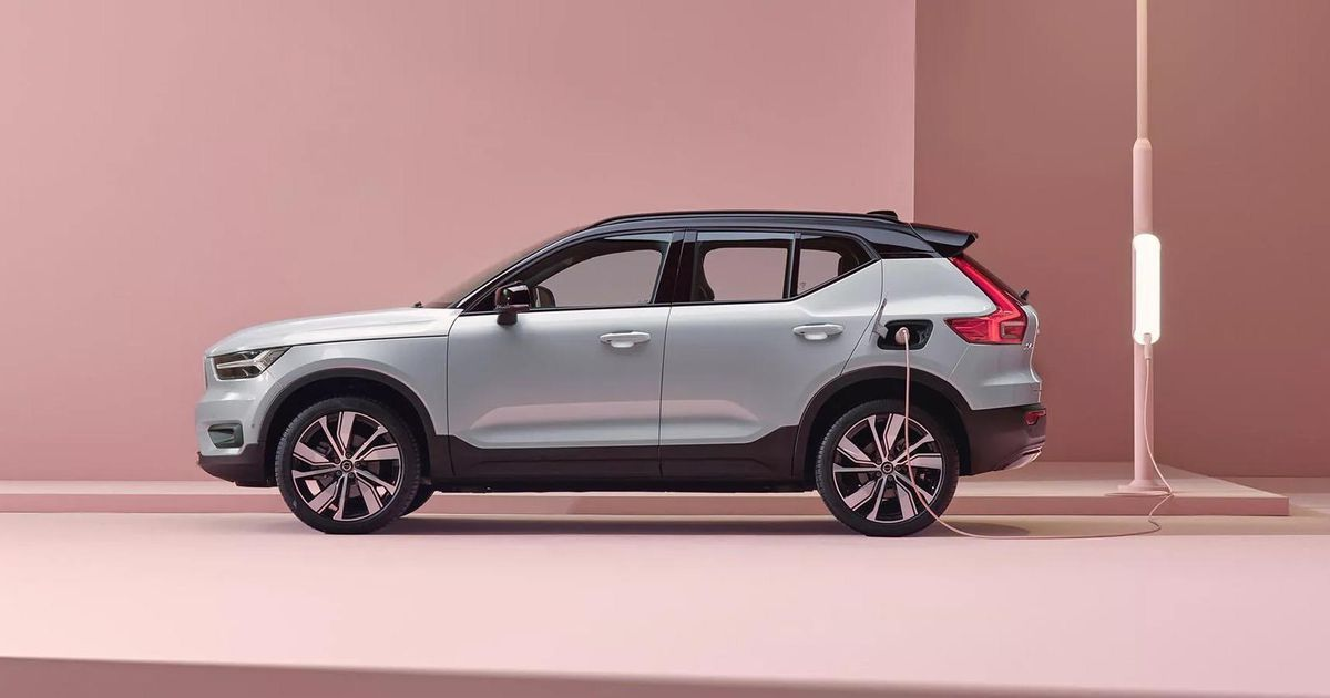 Volvo Xc40 Recharge Electric Suv Only Manages 208 Miles Of Range Epa Says In 2021 Volvo Electricity Porsche Taycan