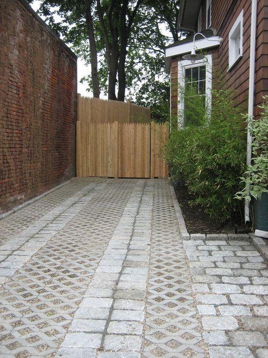 9f0160bf24ef347cd60c798dcc51d689 South West Brick Pea Gravel Garden Design on