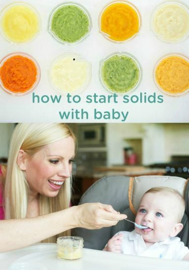 how to start baby on solids