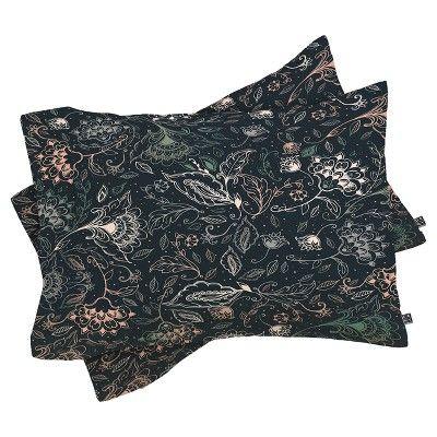 Blue RosebudStudio Brelynn Comforter Set (Twin XL) 2pc - Deny Designs