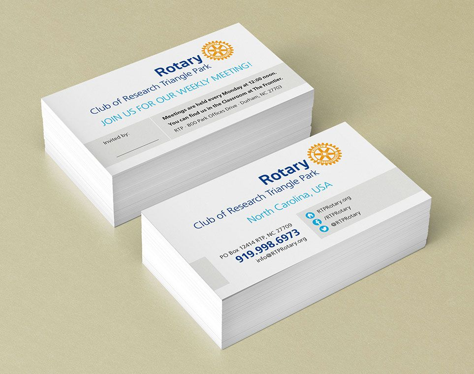 designpoint-other-business-card-rotary-club-of-research-triangle - club membership card template