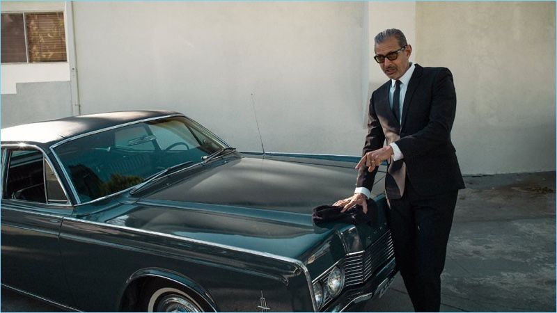 Jeff Goldblum Inspires in Designer Menswear for Mr Porter's The Journal