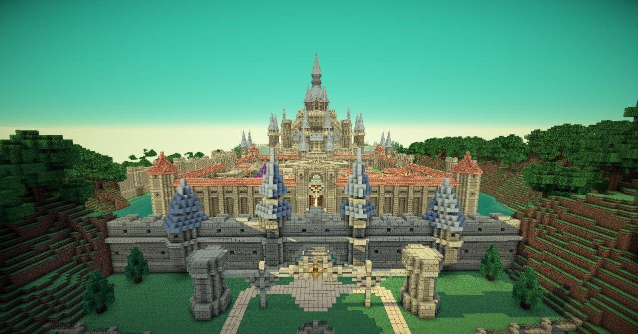 Minecraft Disney Castle!
