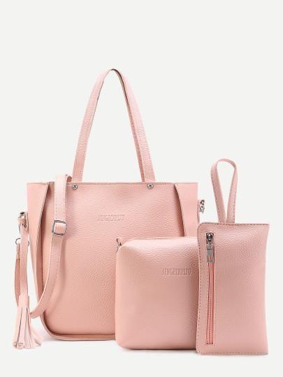 Pink bag with options   soo schöne Taschen   Bags, Fashion