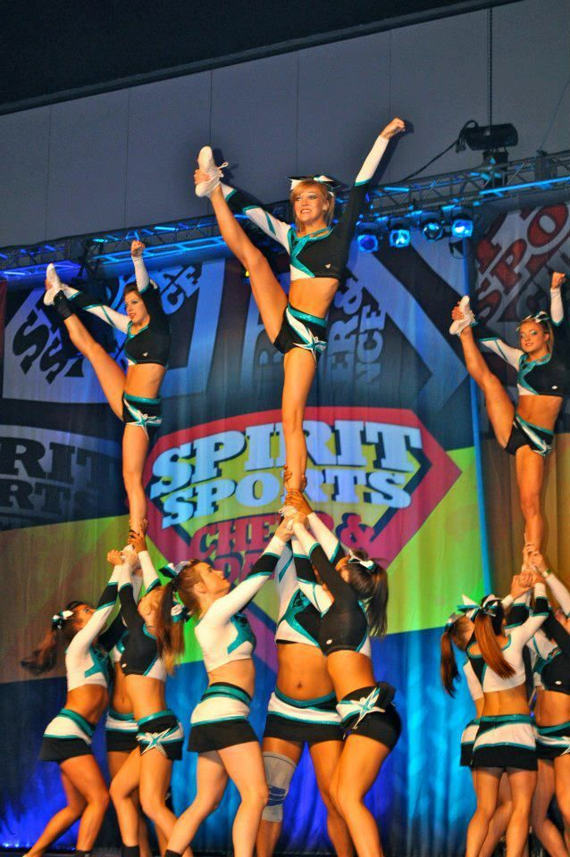 Heel stretch!! (With images) Cheerleading stunt