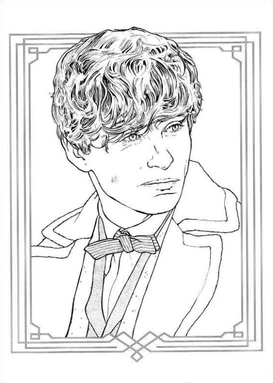fantastic beasts coloring pages Coloring page Fantastic Beasts and Where to Find Them: fantastic  fantastic beasts coloring pages