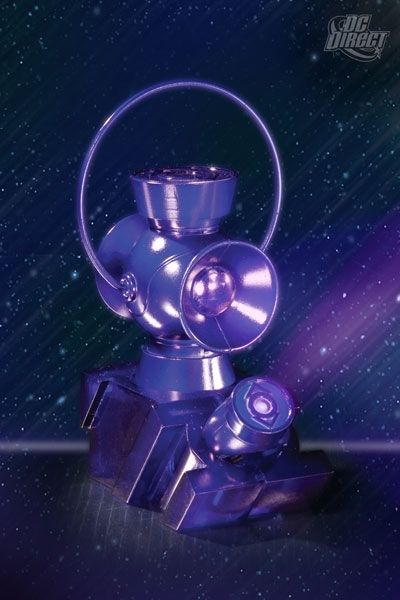 Kirin Hobby Green Lantern Indigo Lantern Power Battery Ring By Dc Direct 761941302676 Green Lantern Lanterns Blackest Night