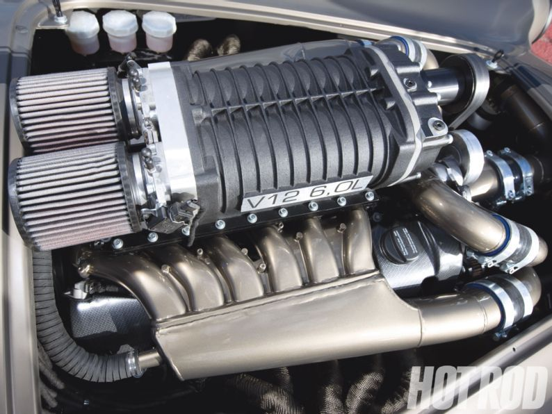 Magnus Jinstrands V12 Shelby Cobra Kit Car V12 Blower