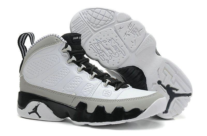 d9662b4bb32 Air-Jordan-9-Retro-Womens-Barons-Off-White-Cool-Grey-Bright-Black-302370-108