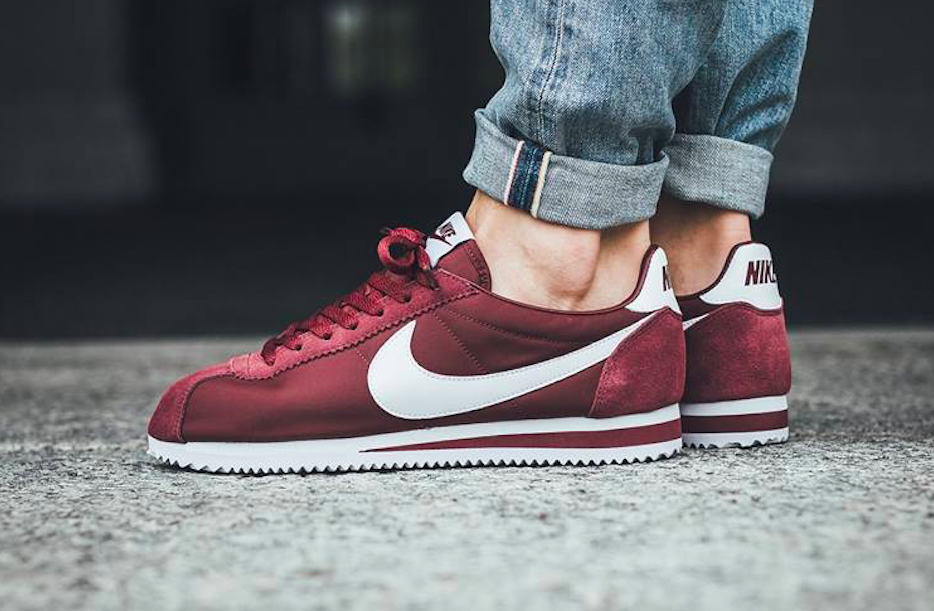 detailed look 3426d 6db93 Dark Team Red Lands On The Latest Nike Cortez