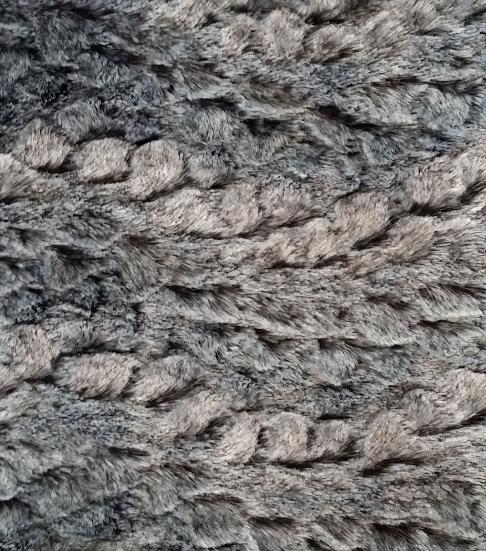 "Luxury Faux Rabbit Fur Fabric 58"""