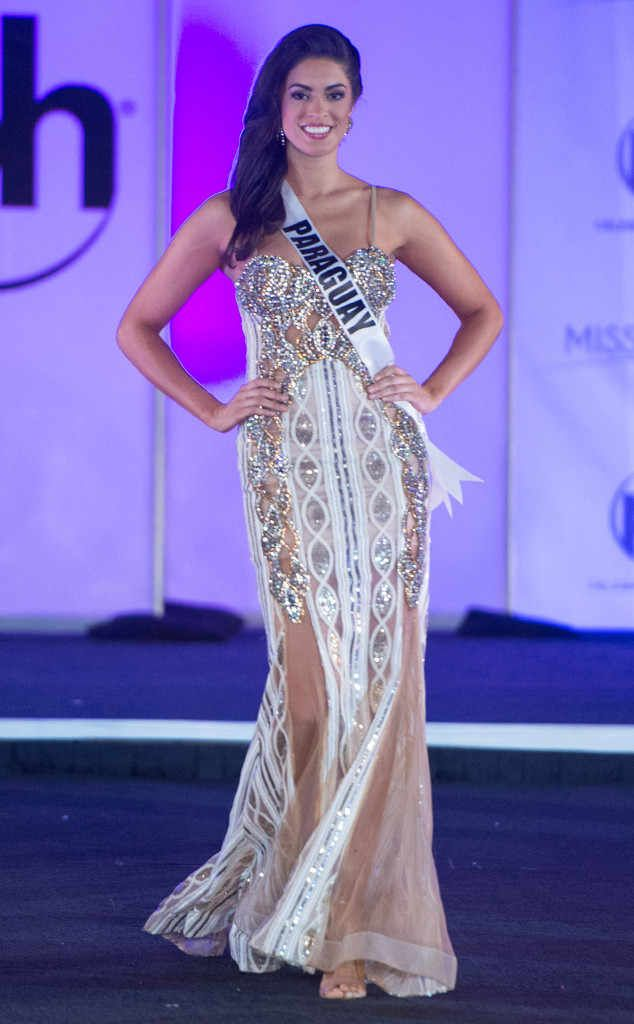 Miss Paraguay from Miss Universe 2017 Evening Gown Competition   ss ...