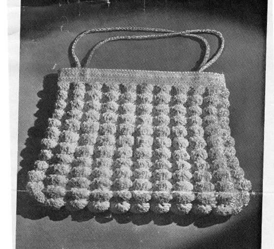 Free Shell Crocheted Bag Pattern in Guimp | Crochet Bag