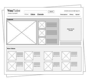 Mockflow Wireframepro Design User Interface Concepts For Websites Wireframe Ux Design Website Design Layout