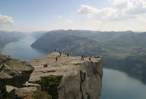 Preikestolen (Pulpit Rock) - hike
