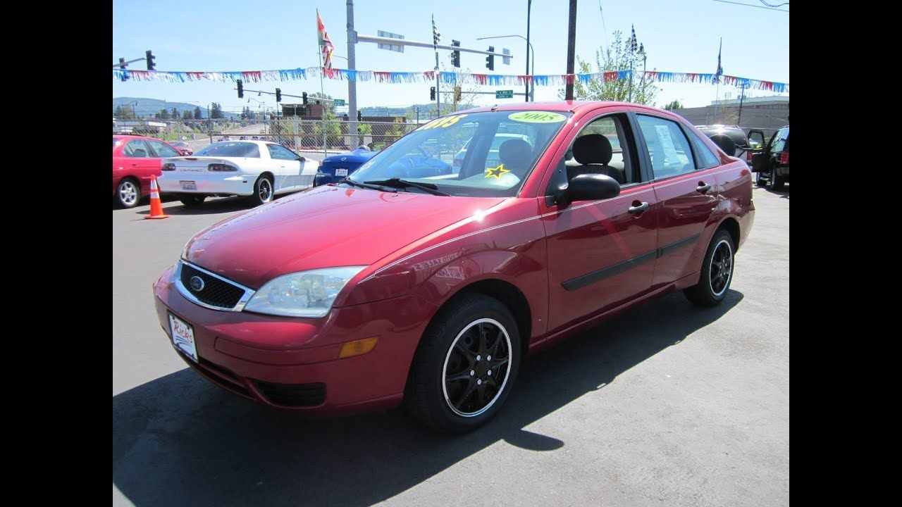 2005 Ford Focus Zx4 Sedan 2695 Ford Focus Ford Bmw