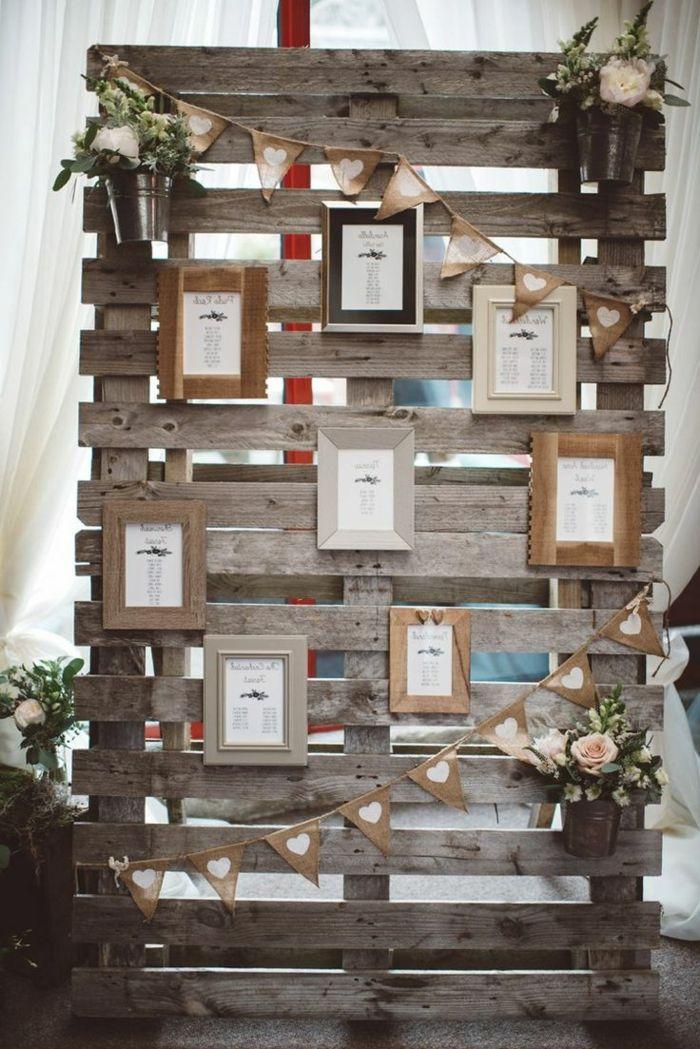 1001 ideas con palets originales y f ciles para tu casa - Palets para decoracion ...
