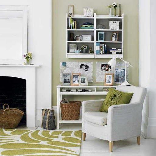 Livingroomdecorideaarmchaircornerlookdesignforshelves Stunning Wall Racks Designs For Living Rooms Inspiration Design