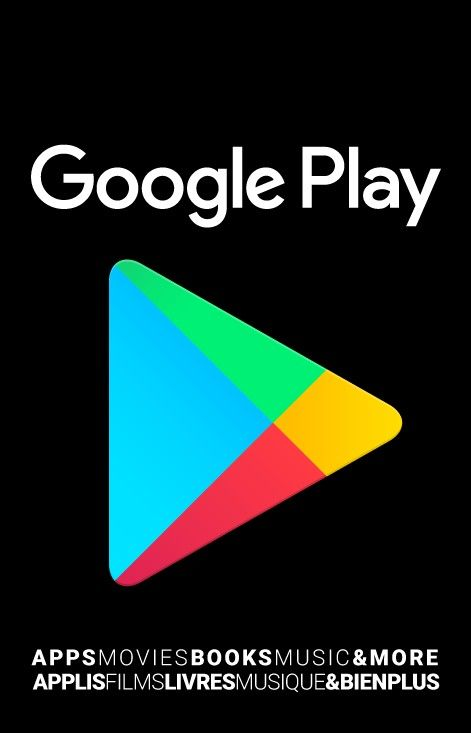 Google Play gift cards for my phone games and music! :D