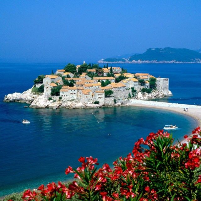 Aman Sveti Stefan Resort Montenegro - I want to vacation here..