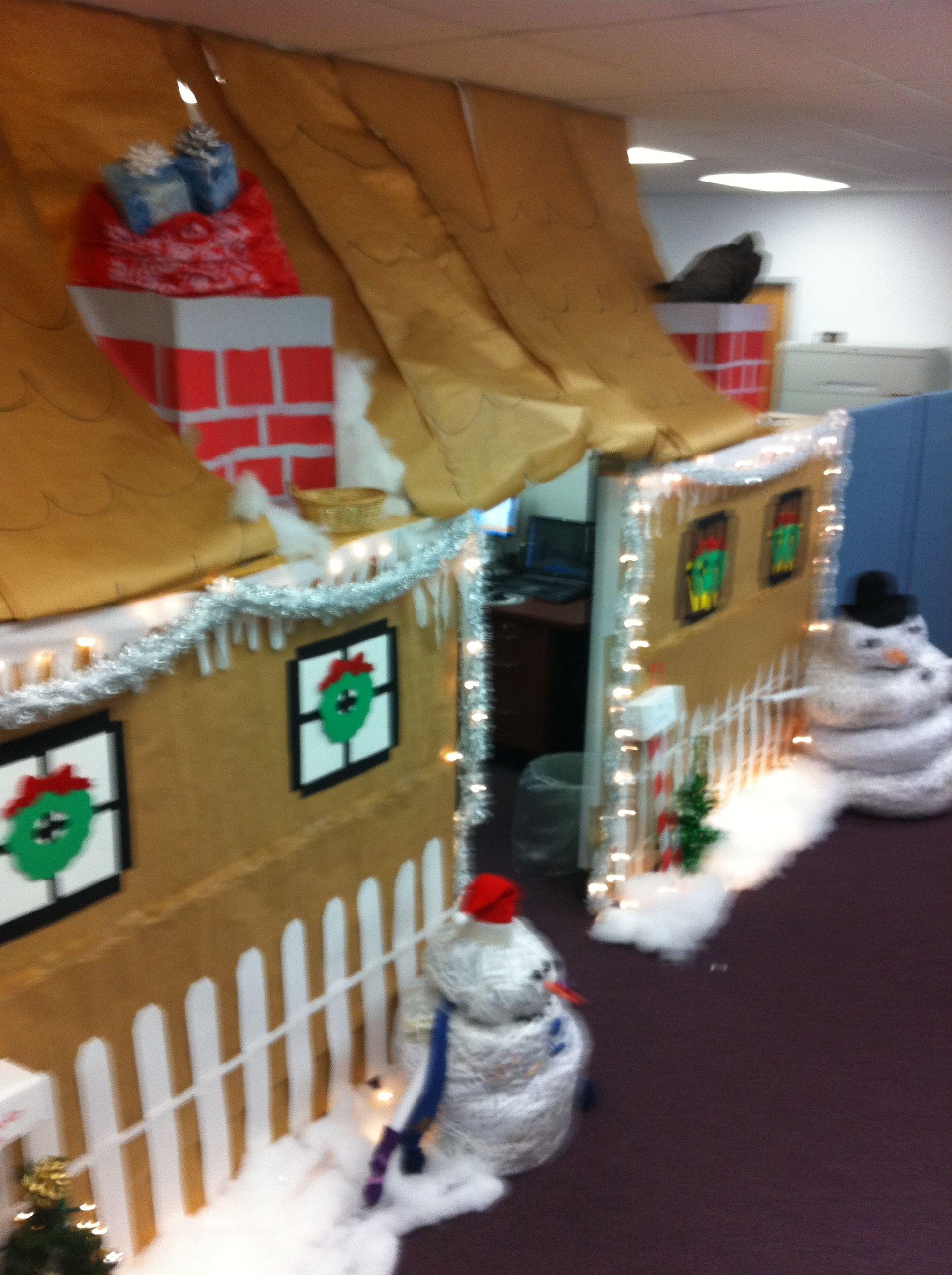 Office christmas decorations | Xmas | Pinterest | Decoration ...