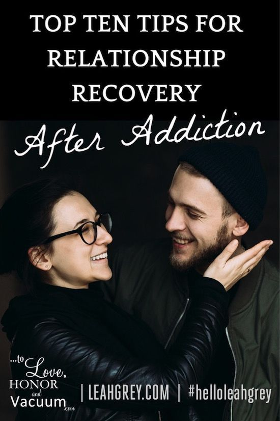 Dating an alcoholic in recovery