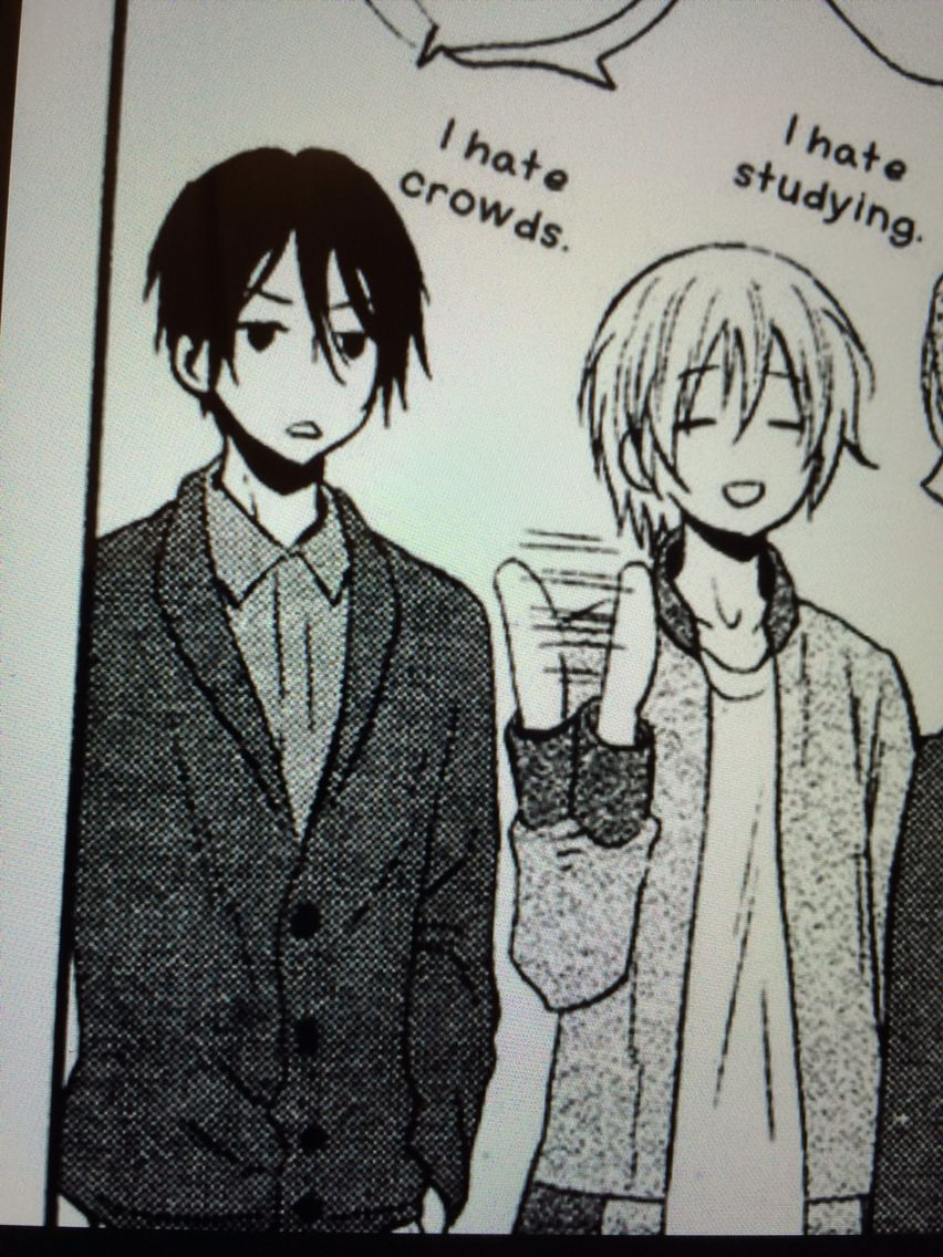 These two are me like seriously #Manga
