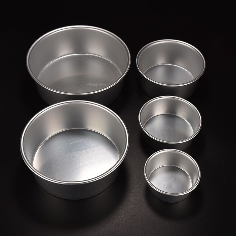 Details about round aluminum baking tin pan mold mould for