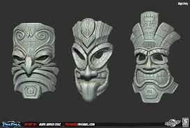 tiki mask - Google Search