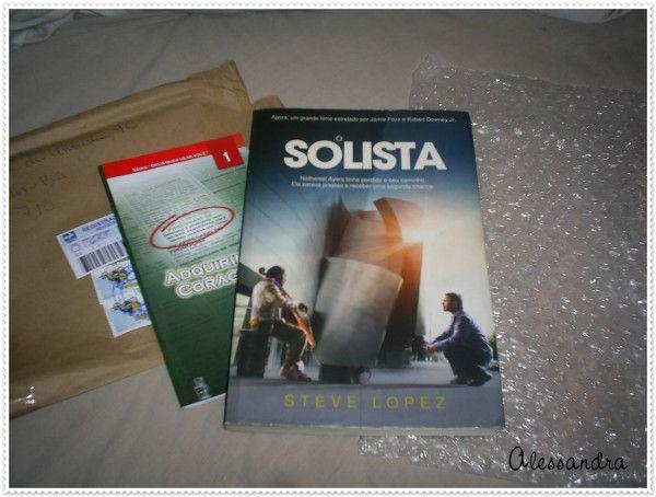 LV24 - O Solista da colega Skoob Luciane vindo através de Sueli - Livro em bom estado - prazo leitura até 18/06 =) - LV da Luciene
