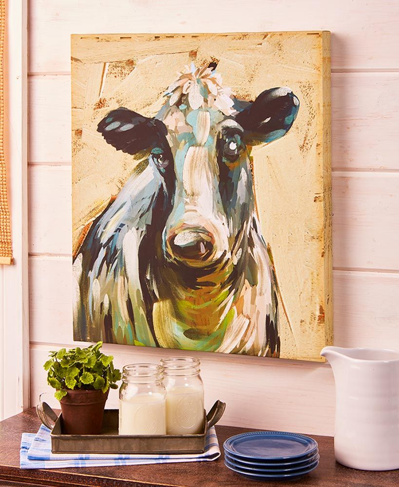 Farm Animal Canvas Wall Art (With images) Animal canvas