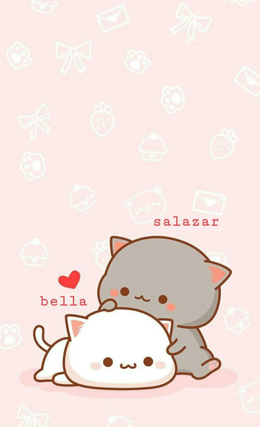 List Of Easy Anime Wallpaper Iphone Kawaii Walpaper In 2020 Cute Cartoon Wallpapers Cute Cat Wallpaper Wallpaper Iphone Cute