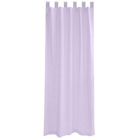Seed Sprout Basics Tab Top 63'' Curtains (2 Panels), Purple