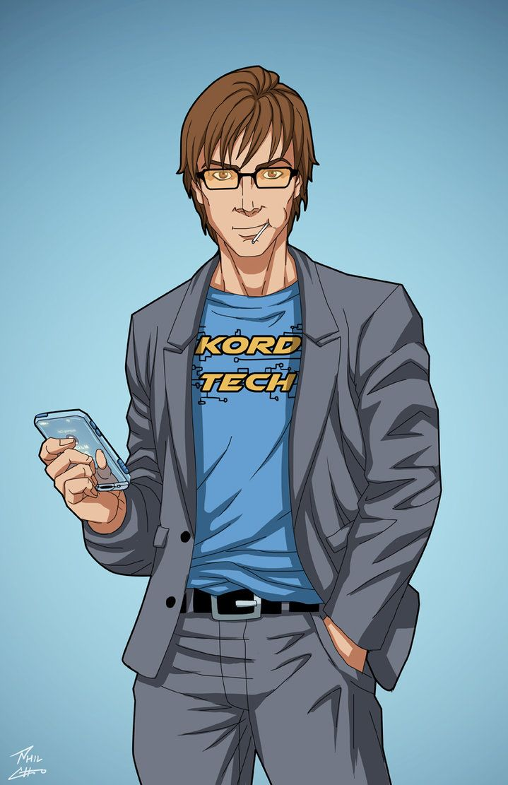 Ted Kord (Earth-27) commission by phil-cho on DeviantArt