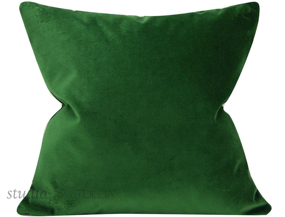 Pillow Cover Emerald Decorative Pillow