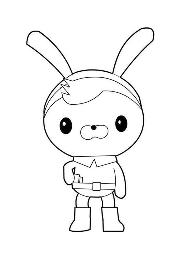 The Octonauts, : Awesome Tweak Bunny from The Octonauts Coloring ...
