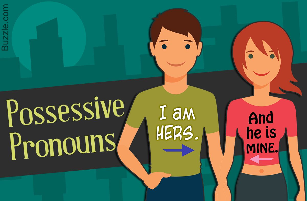 Explanation Of Possessive Pronouns With Examples