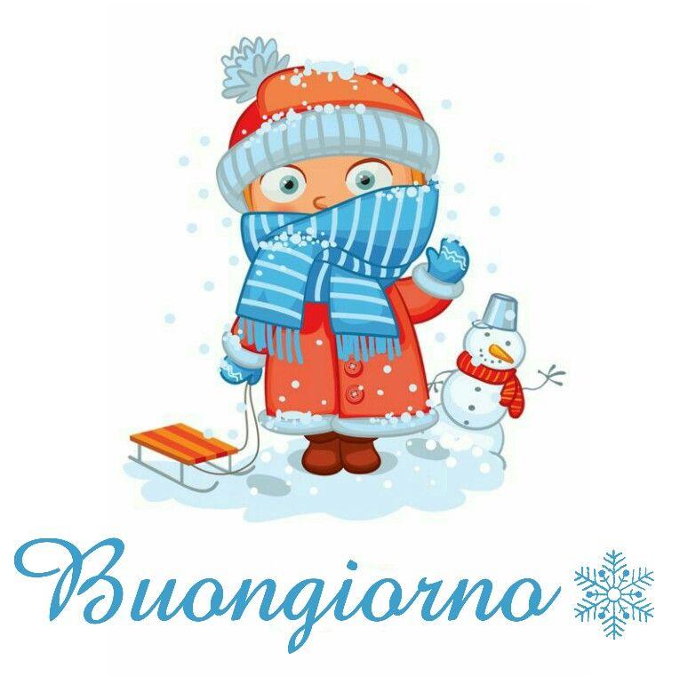 Foto Di Natale Neve Inverno 94.Buongiorno Con Neve Kalhmera Buongiorno Buonanotte E Inverno
