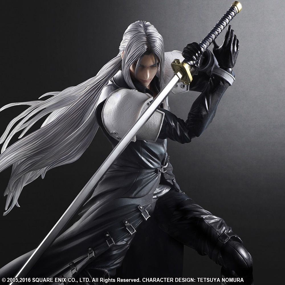 Final Fantasy Vii Advent Children Play Arts Kai Sephiroth - Invoice format for services rendered square enix online store
