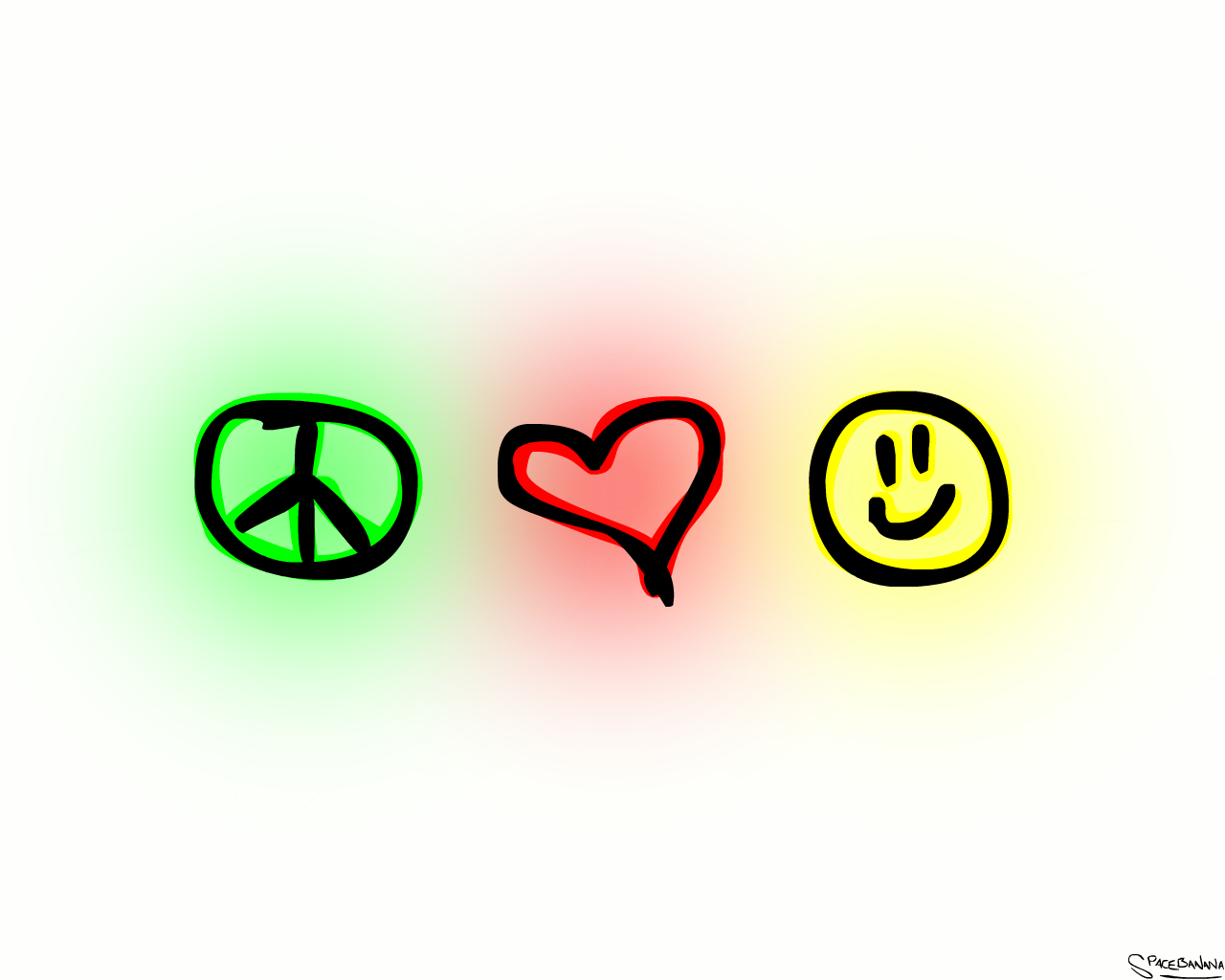 Peace Love Happiness, Peace Love And Happiness | Simple Wallpapers
