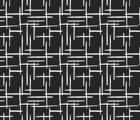 Abstract Geometric Raster Black And Whit White Fabric Texture Line Design Pattern Stripes Trends