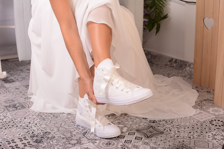 Custom Converse shoes Lace