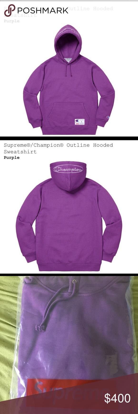 Supreme Champion Hoodie Champion Hoodie Hoodies Clothes Design [ 1740 x 580 Pixel ]