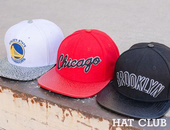 b665ec5cf12 PRO STANDARD x NBA Premium Strapback Caps   HAT CLUB