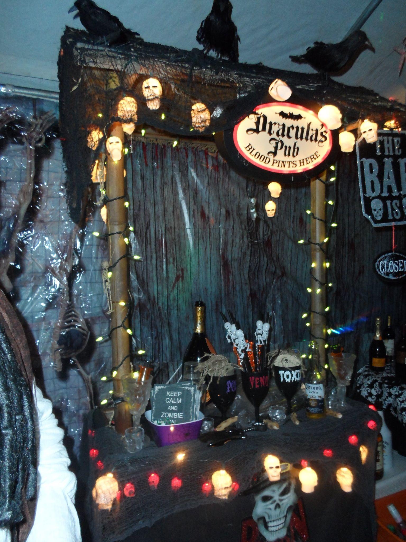 Dracula barman Motif-Tablier