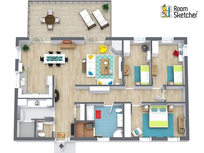 Bedroom Design Tool Free Roomsketcher Home Designer Is An Easytouse Floor Plan And Home